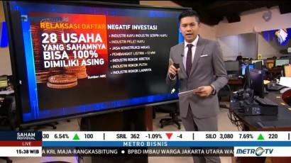 Relaksasi Daftar Negatif Investasi