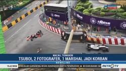 Rekaman Kecelakaan GP Macau Formula 3
