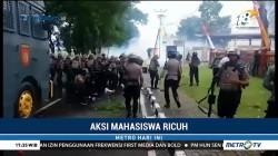 Demo Mahasiswa di Ternate Berakhir Ricuh