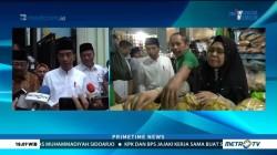 Blusukan ke Pasar, Jokowi Yakin Harga Kebutuhan Pokok Stabil