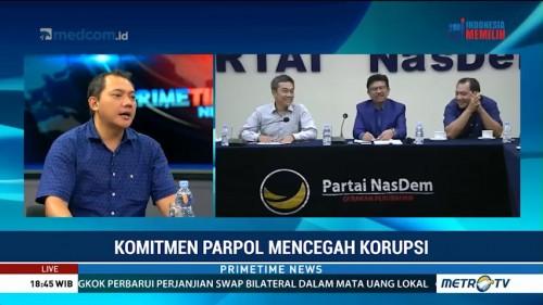 Komitmen Parpol Mencegah Korupsi