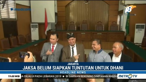 PN Jaksel Tunda Pembacaan Tuntutan Ahmad Dhani
