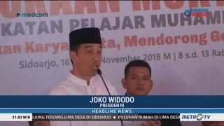 Jokowi Hadiri Muktamar Ikatan Pelajar Muhammadiyah