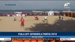 Sepak Bola Pantai, Indonesia Kalah atas Vietnam