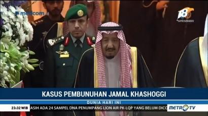 Raja Salman tak Banyak Komentar Terkait Kasus Khashoggi