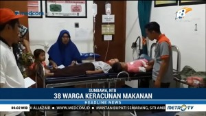 38 Warga Sumbawa Keracunan Makanan