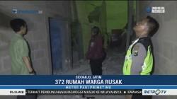 Ratusan Rumah di Sidoarjo Porak-poranda Dihantam Puting Beliung