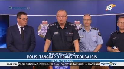 Polisi Australia Tangkap Tiga Orang Terduga ISIS