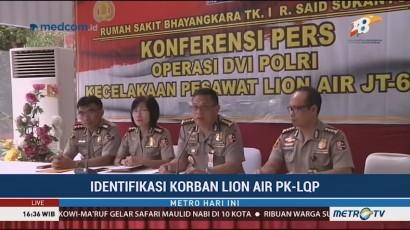 Tim DVI Evaluasi Proses Identifikasi Korban Lion Air pada 23 November