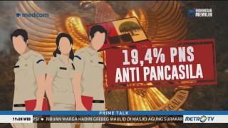 Ditemukan 19,4% PNS Anti-Pancasila