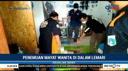 Polisi Pastikan Mayat Wanita dalam Lemari Korban Pembunuhan