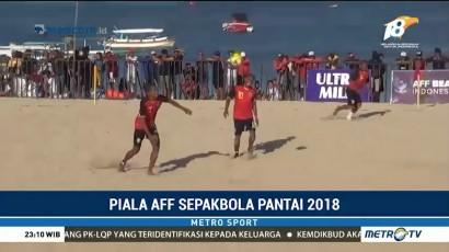 Sepak Bola Pantai, Indonesia Bekuk Timor Leste 5-2