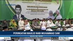 Ribuan Santri di Sidoarjo Peringati Maulid Nabi Muhammad