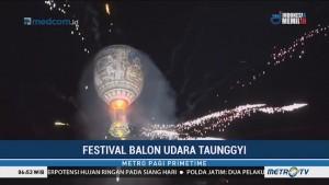 Festival Balon Udara Hiasi Langit Myanmar