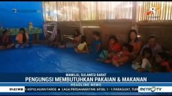Pengungsi Gempa Mamasa Butuh Bantuan Pakaian dan Makanan