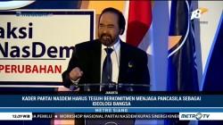 Surya Paloh Ingatkan Kader Komitmen Jaga Pancasila