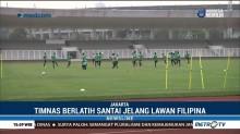 Timnas Indonesia Fokus Petik Kemenangan Lawan Filipina