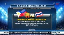 Menghitung Peluang Indonesia Lolos dari Babak Grup Piala AFF