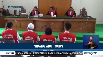 Sidang Lanjutan Kasus Abu Tours, Saksi Menolak untuk Disumpah