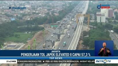 Jakarta-Cikampek Elevated Ditargetkan Beroperasi 2019