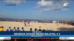 Indonesia Imbangi Malaysia di Piala AFF Sepak Bola Pantai 2018
