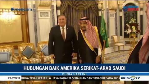 Hubungan Baik Amerika Serikat-Arab Saudi