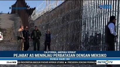 Penjabat Amerika Serikat Tinjau Perbatasan dengan Meksiko
