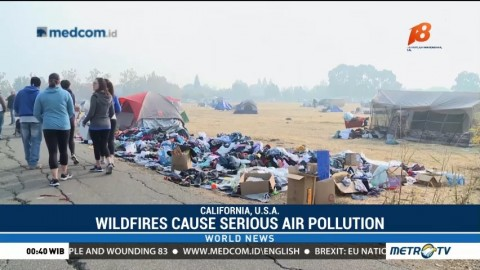 Wildfires Cause Serious Air Pollution
