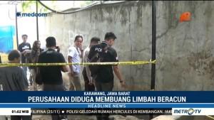 Diduga Buang Limbah Sembarangan, Polisi Segel Pabrik Sabun di Karawang