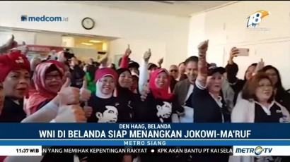WNI di Belanda Dukung Jokowi-Ma'ruf
