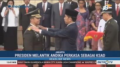 Alasan Jokowi Pilih Andika Perkasa Jadi KSAD