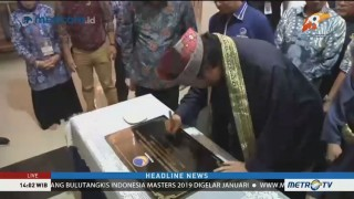 Surya Paloh Resmikan Kantor DPW NasDem Kalimantan Barat