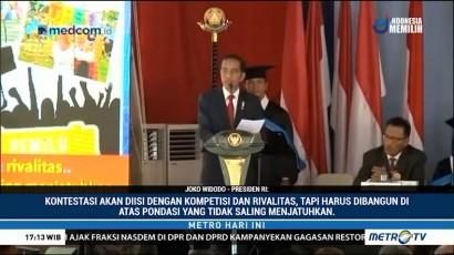 Jokowi: Kontestasi Politik Jangan Timbulkan Permusuhan