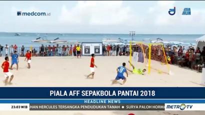 Indonesia Gagal Melenggang ke Final Piala AFF Sepak Bola Pantai