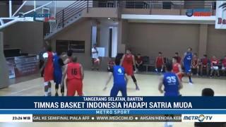 Timnas Basket RI Matangkan Persiapan Jelang Prakualifikasi Piala Asia