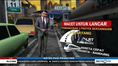 Mengurai Kemacetan di Tol Jakarta-Cikampek (1)