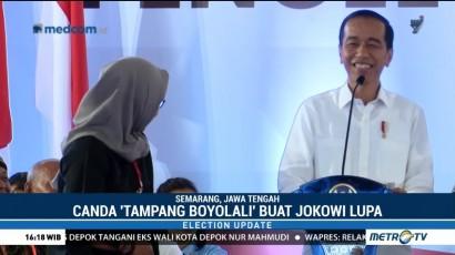 Canda 'Tampang Boyolali' Buat Jokowi Gagal Fokus