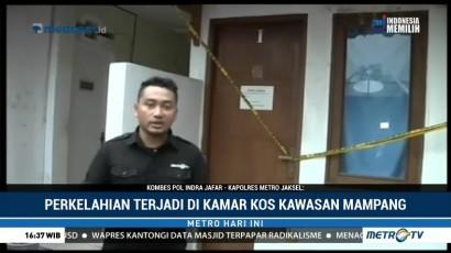 Rekonstruksi Pembunuhan Pemandu Karaoke di Mampang