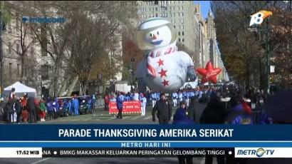 16 Balon Raksasa Meriahkan Parade Thanksgiving di New York