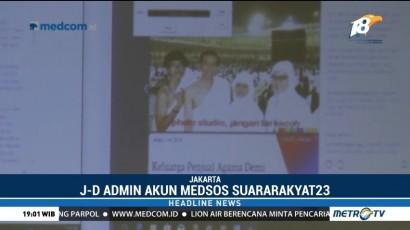 Siber Bareskrim Polri Tangkap Admin Medsos Penyebar Hoaks