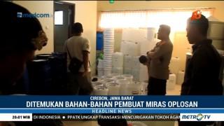 Polisi Gerebek Rumah Mewah yang Disulap Jadi Pabrik Miras di Cirebon