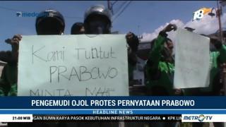 Pengemudi Ojek Online di Jember Desak Prabowo Minta Maaf