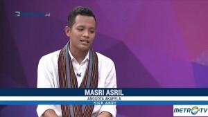 Cerita Masri Asril Dibesarkan di Pusaran Intoleransi