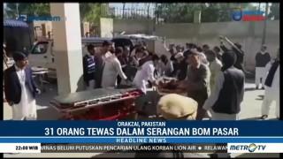 31 Orang Tewas dalam Serangan Bom di Pasar Pakistan