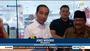 Pulang dari Papua Nugini, Jokowi Beli Oleh-oleh untuk Cucunya di Surabaya