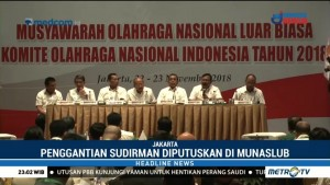 KONI Resmi Copot Sudirman dari Posisi Ketua BAORI