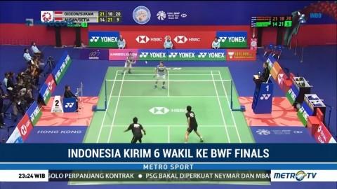 Indonesia Kirim Enam Wakil ke BWF World Tour Finals 2018