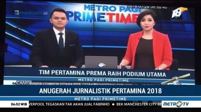 Metro TV dan Medcom.id Raih Juara Jurnalistik Pertamina