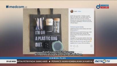 Warganet Gaungkan Setop Penggunaan Plastik Sekali Pakai