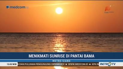 Menikmati Sunrise di Pantai Bama